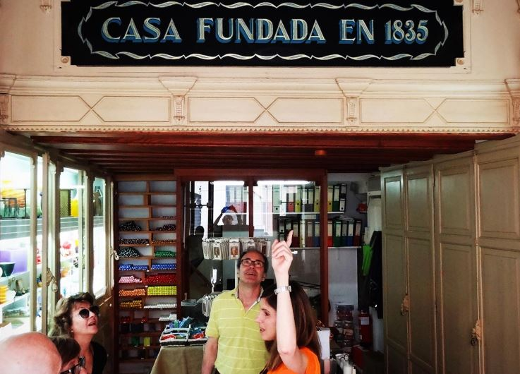 Guided tour - Shops with history in Reus - Mari Carmen Granados