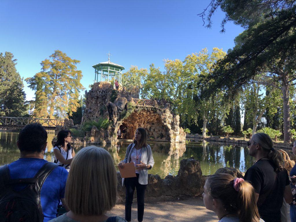 Llac del Parc Samà - Sketching tour