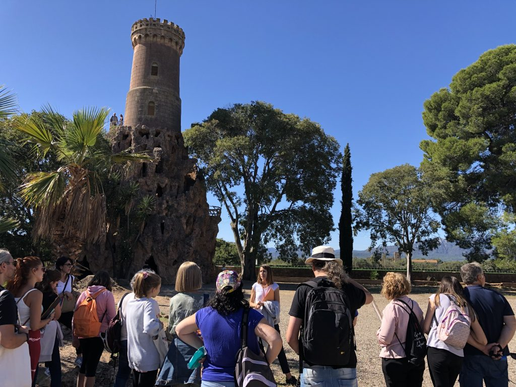 Torre mirador - Parc Samà Sketching tour