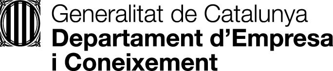Logo Gencat Empresa i Coneixement