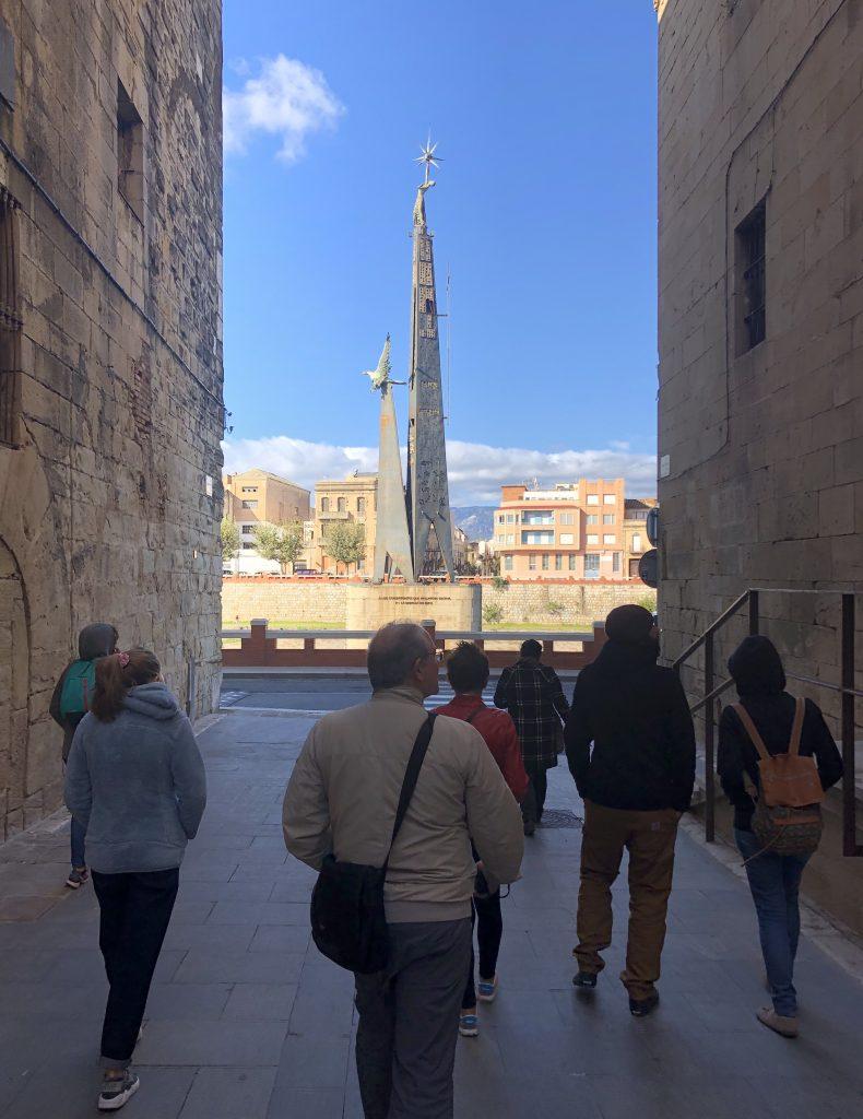 Monument Caiguts Ebre - Tortosa - Ruta guiada