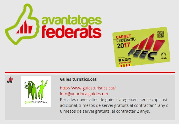FEEC federats - avantatges