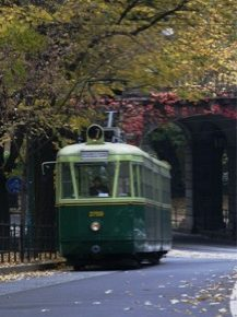 Turin by tramway
