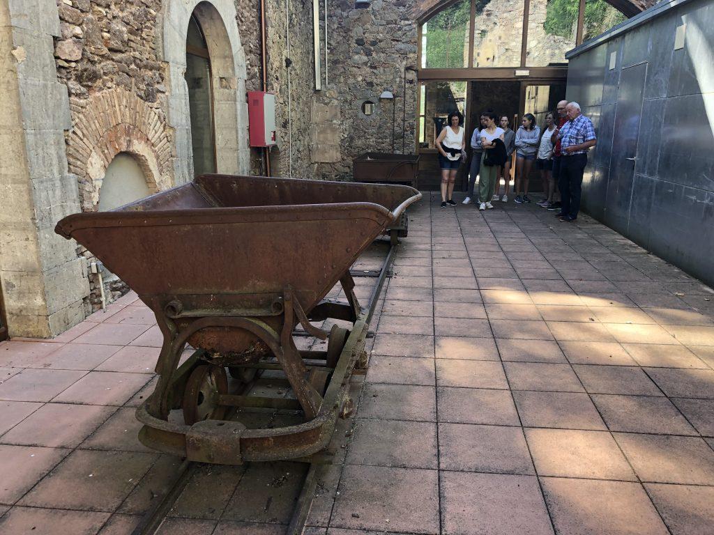 Vagoneta de carbó Museu Ogassa