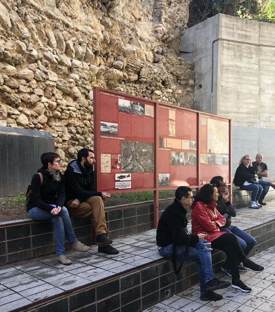 Visita guiada - Antiaeri número 4 - Tortosa
