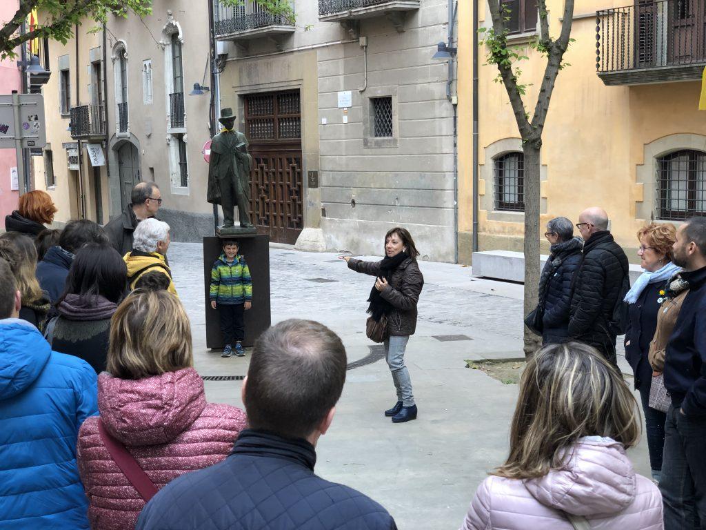 Itinerari guiat per la Plaça de l'Estudiant