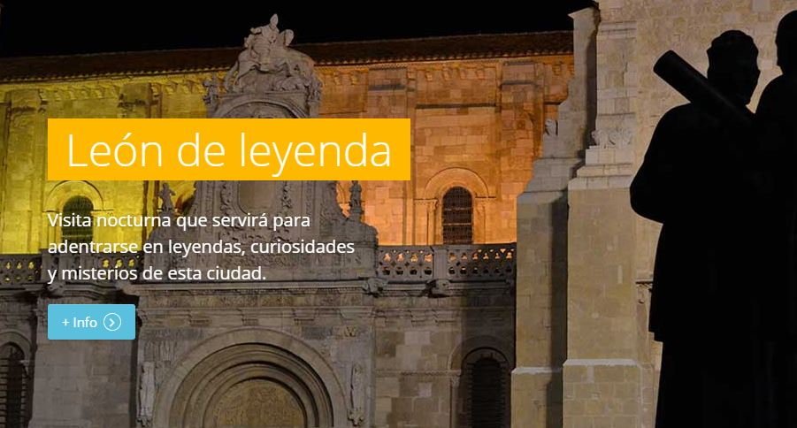 Ruta nocturna León de Leyenda