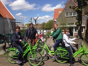 Afores de Amsterdam en bicicleta