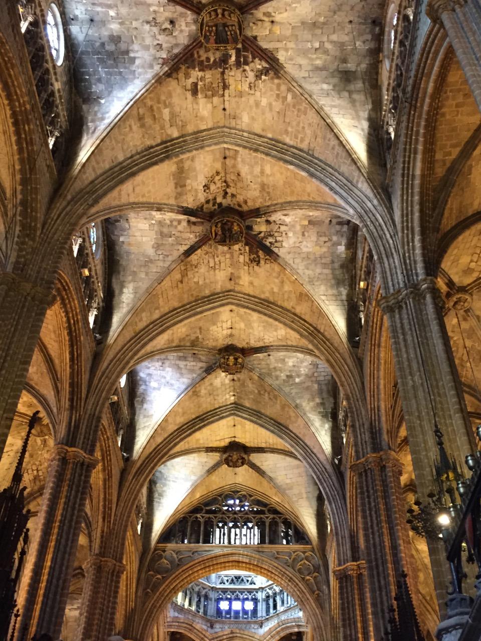 Catedral de Barcelona - Nave central