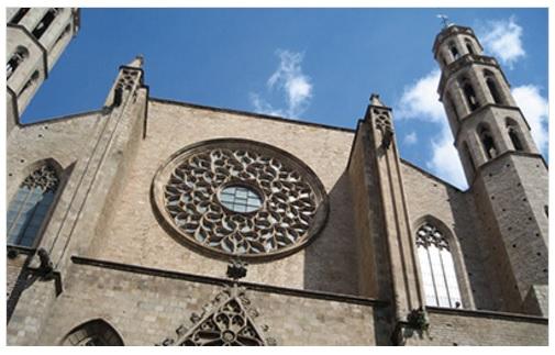 Barcelona medieval city