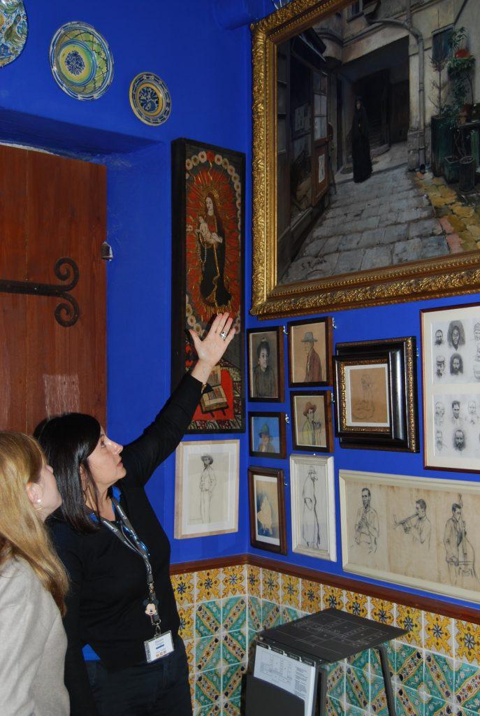 Visita al Museu de Cau Ferrat