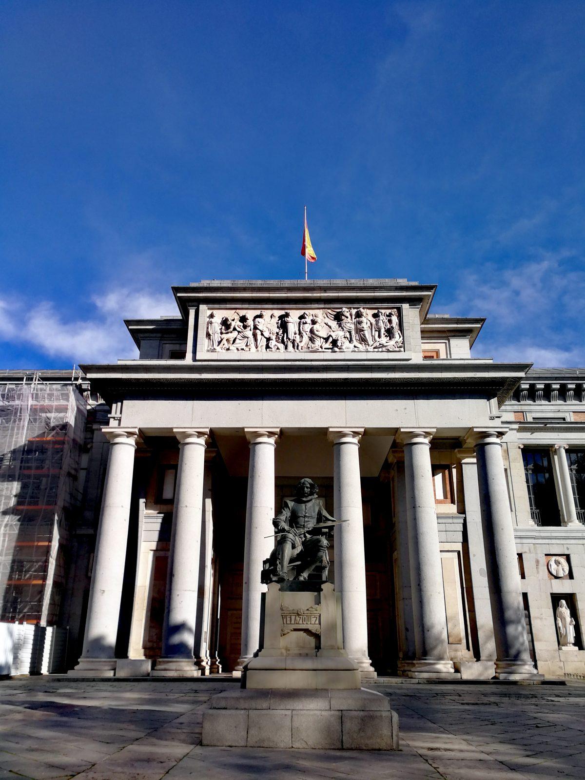 Museo del Prado Entrada Velázquez