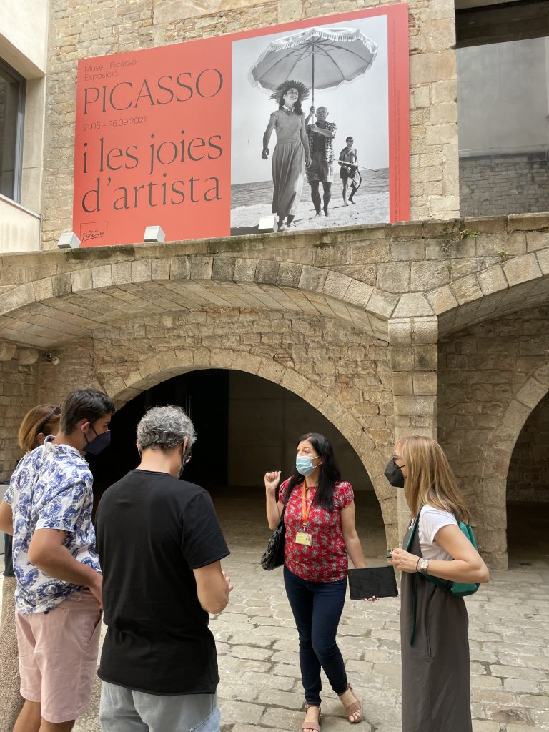 Museu Picasso palaus barri Ribera Barcelona