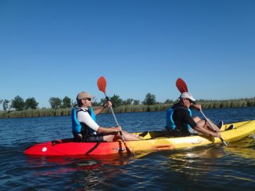 Paddling to Sant Pere Pescador