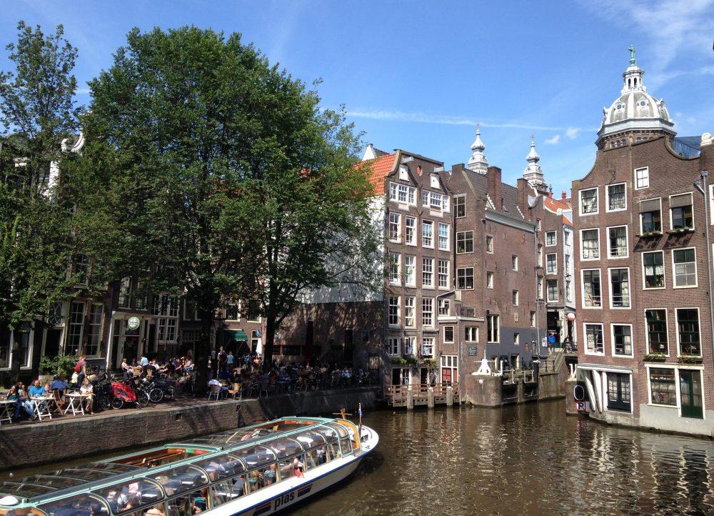 Passeig en barca per Amsterdam