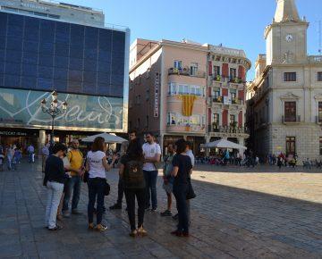 Plaça Mercadal Reus English tour