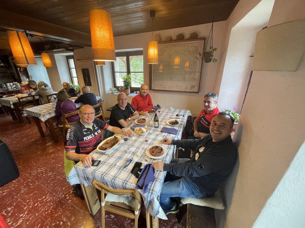 Restaurant Can Jordi Espinavell poltre