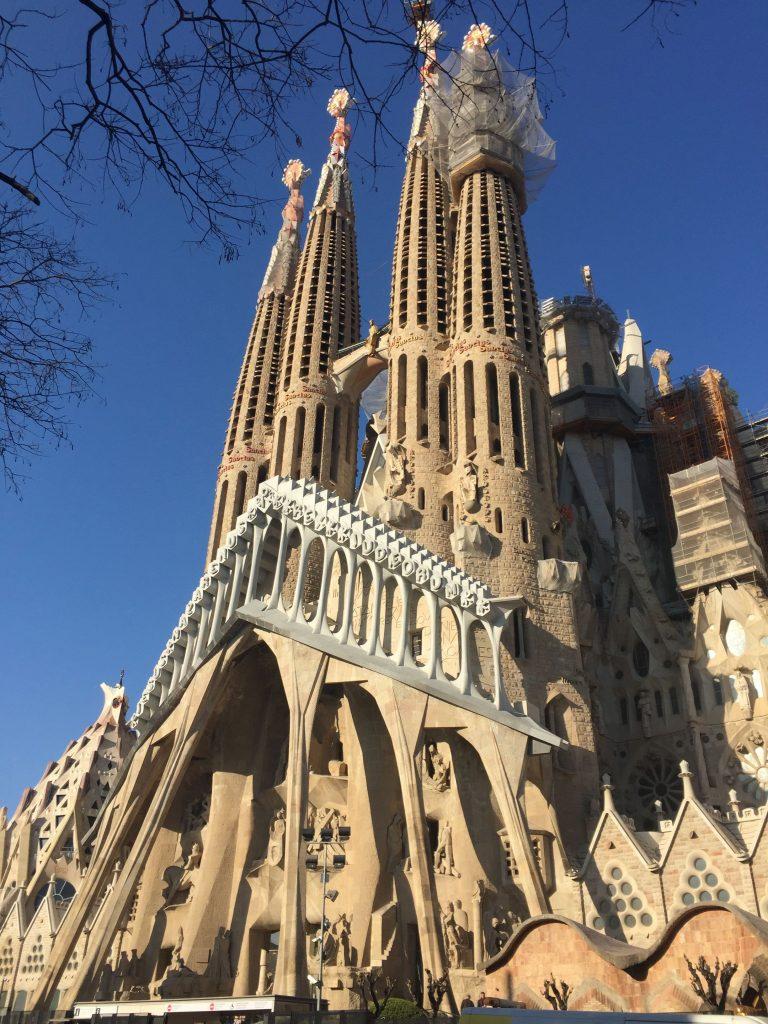 La Sagrada Familia et le quartier du Eixample