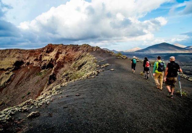 Timanfaya trekking